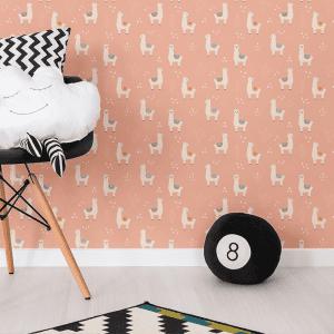 Lilo Llama Fiesta | Wallpaper Styled Room