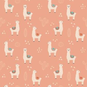 Lilo Llama Fiesta | Wallpaper Swatch