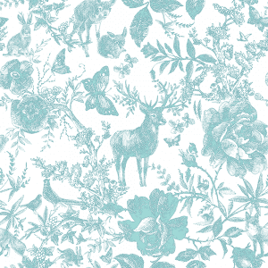 Enchanted Forest Minted | Wallpaper Swatch
