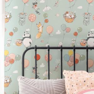 Float Away   Wallpaper Styled Room