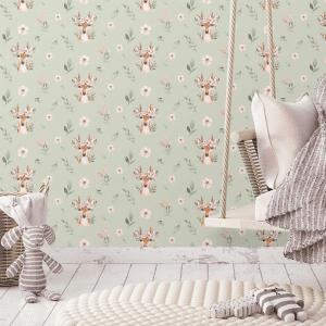 Oh Deer | Wallpaper Styled Room