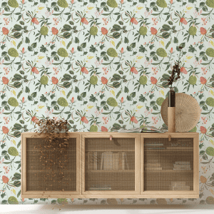 Floral Banskia | Wallpaper Styled Room
