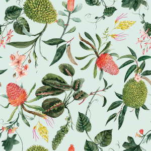 Floral Banskia | Wallpaper Swatch