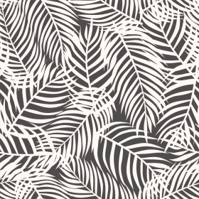 Charcoal Palms | Wallpaper Swatch