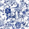 Enchanted Garden Navy | Wallpaper Swatch
