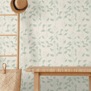 Trailing Gumleaf Sage | Wallpaper Styled Room