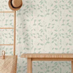 Trailing Gumleaf Sage | Wallpaper Styled Room