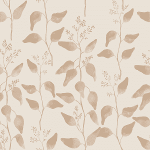 Trailing Gumleaf Natural | Wallpaper Swatch