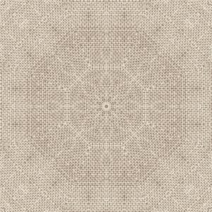 Mandala Hessian   Wallpaper Swatch
