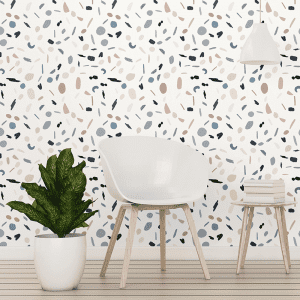 Terazzo Nostalgia | Wallpaper Styled Room
