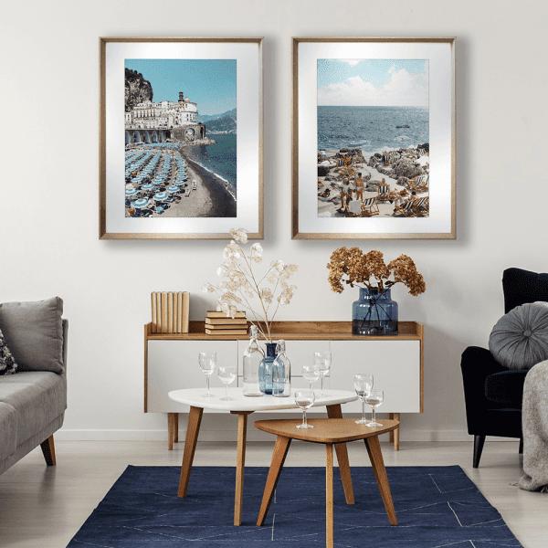 La Dolce Vita 01 & 03 | Artwork Styled Room