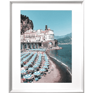 La Dolce Vita 01 | White Framed Artwork