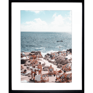 La Dolce Vita 03 | Black Framed Artwork