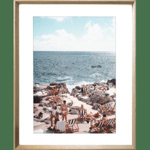 La Dolce Vita 03 | Cashew Framed Artwork