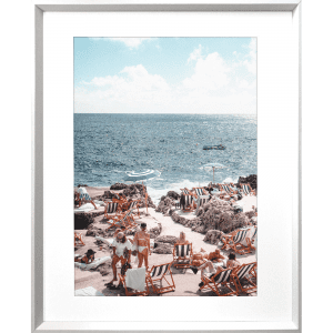 La Dolce Vita 03 | White Framed Artwork