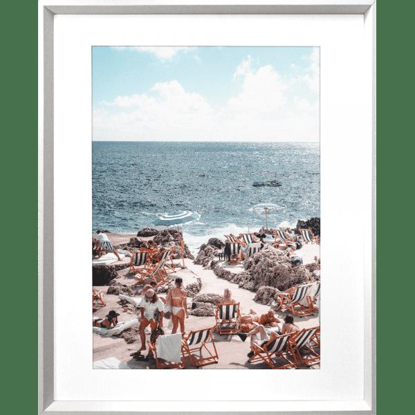 La Dolce Vita 03 | White Framed Artwork