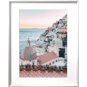 La Dolce Vita 04 | White Framed Artwork