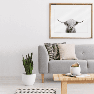 Call of the wild 03 | Styled Room Framed Print