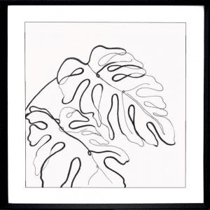 Evergreen 01   Black Deep Dish Framed Print