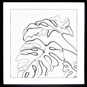Evergreen 02   Black Deep Dish Framed Print