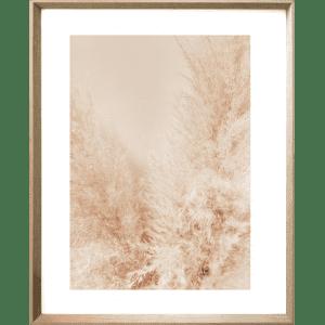Fairy Floss 01   Cashew Deep Dish Framed Print