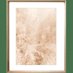 Fairy Floss 02   Cashew Deep Dish Framed Print