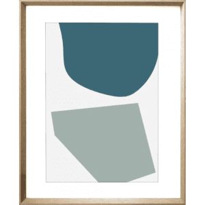 Terazzo Crush 02 | Cashew Framed Print