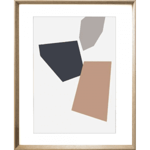 Terazzo Crush 03 | Cashew Framed Print