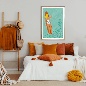 SUNDAY 07 XL POSTER | Styled Room