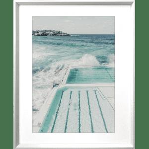 Take me to the sea 05 | White Deep Dish Framed Art
