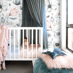 Jumbo Vintage Blossom – Chambray